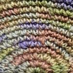 Colorful yarn weave — Stock Photo
