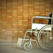 A wheel chair in a hospital — Stockfoto