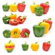 Stock Photo: Fresh colorful paprika