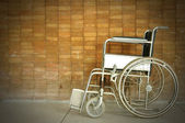 A wheel chair in a hospital — Stock Photo