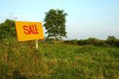 Terrenos en venta — Foto de Stock