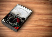 Volt meter on table — Stock Photo