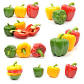Fresh colorful paprika — Stock Photo