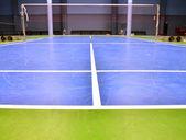 Corte de badminton — Fotografia Stock