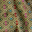 Thai style fabric — Stock Photo