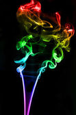 Textured of incense smoke — Stock fotografie