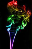 Dekorativní vonné kouře — Stock fotografie