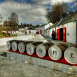 Edradour Distillery, Pitlochry. — Stock Photo