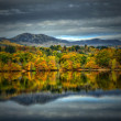 Ben Y Vrackie & Loch Faskally, Pitlochry — Stock Photo