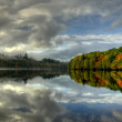 Loch Faskally, Pitlochry — Stock Photo