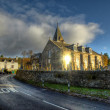 Moulin Kirk & Hermitage Centre, Moulin, Pitlochry, Scotland — Stock Photo