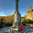 Pitlochry War Memorial, Pitlochry, Scotland — Stock Photo