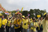 Celebration birthday of King Thailand — Foto Stock