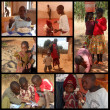 Smile for Africa 422 - Moments of everyday life of African child — Stock Photo