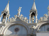 The statues of Venice - 530 — Stock Photo