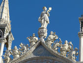 The statues of Venice - 531 — Stock Photo