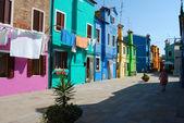 Casas de la laguna - venecia - italia 027 — Foto de Stock