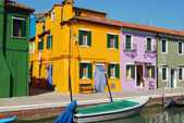 Casas de la laguna - venecia - italia 044 — Foto de Stock