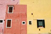 Homes of Burano - Venice - Italy 119 — Stock Photo