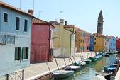 布拉诺-威尼斯-意大利 146 的家园 — 图库照片