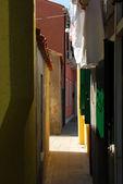 Homes of Burano - Venice - Italy 153 — Stock Photo