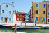 Homes of Burano - Venice - Italy 161 — 图库照片