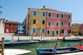 Homes of Burano - Venice - Italy 162 — Stock Photo