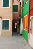 布拉诺-威尼斯-意大利 168 的家园 — 图库照片