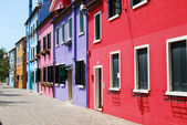Hem burano - Venedig - Italien 171 — Stockfoto