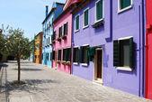 Homes of Burano - Venice - Italy 172 — Stock Photo