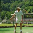 Senior Tennis Player — Stock Photo #12621504