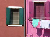Vida en laguna - burano - italia - 634 — Foto de Stock