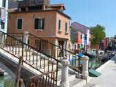 Vida en laguna - burano - italia - 672 — Foto de Stock