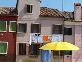 Vida en laguna - burano - italia - 681 — Foto de Stock