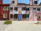 Life in Lagoon - Burano - Italy - 679 — Stock Photo