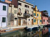 Life in Lagoon - Burano - Italy - 626 — Stock Photo