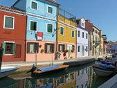 生活在泻湖-布拉诺-意大利-625 — 图库照片