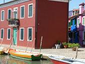 Leben in der lagune - burano - italien - 635 — Stockfoto