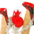 Stock Photo: Merry Christmas Fashion - 205