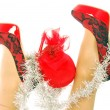 Merry Christmas Fashion - 206 — Stock Photo