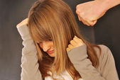 A woman who suffers violence - 134 — Stock Photo