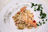 Risotto with prawns - 002 — Stock Photo