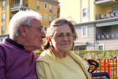 Two young elderly - 269 — Stock Photo