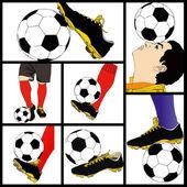 Footballer — Stok fotoğraf