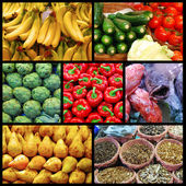 A day at the market — Stock Photo