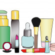 beauty products — Stock Photo