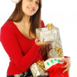 The gifts of a gracious Santa Claus - 033 — Stock Photo