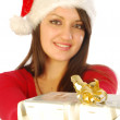 The gifts of a gracious Santa Claus - 041 — Stock Photo