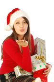 The gifts of a gracious Santa Claus - 029 — Stock Photo