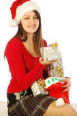 The gifts of a gracious Santa Claus - 034 — Stock Photo